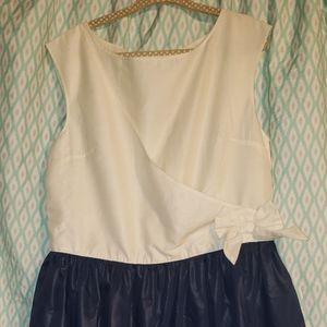 Nautica Girls Sleeveless Dress Sz 8